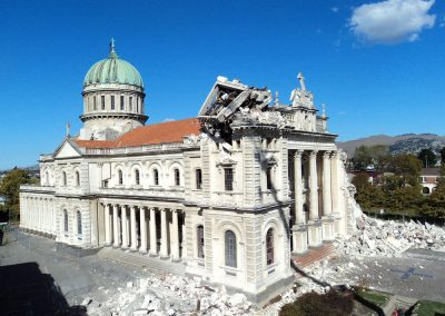 Cathedral of Blessed Sacrament 2011: After Canterbury earthquakes
