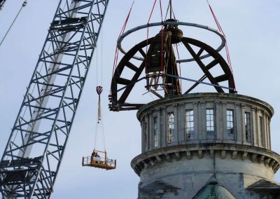 Cathedral of Blessed Sacrament 2011: Make safe work underway