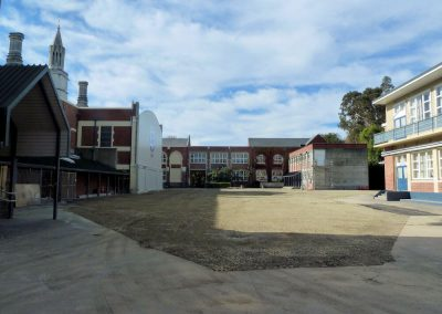 Christchurch Boys High School Following demolition of the Assembly Hall and Wilson Library